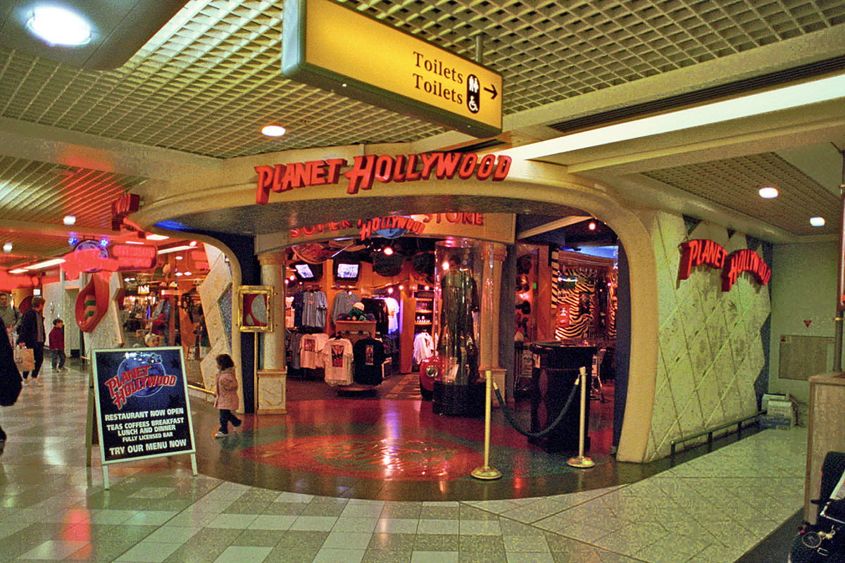 Planet Hollywood Gatwick Airport