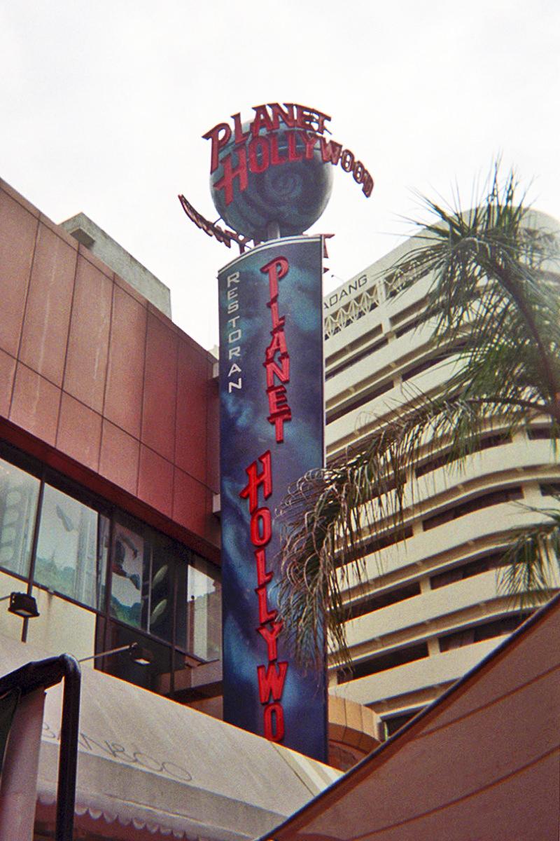 Planet Hollywood Kuala Lumpur