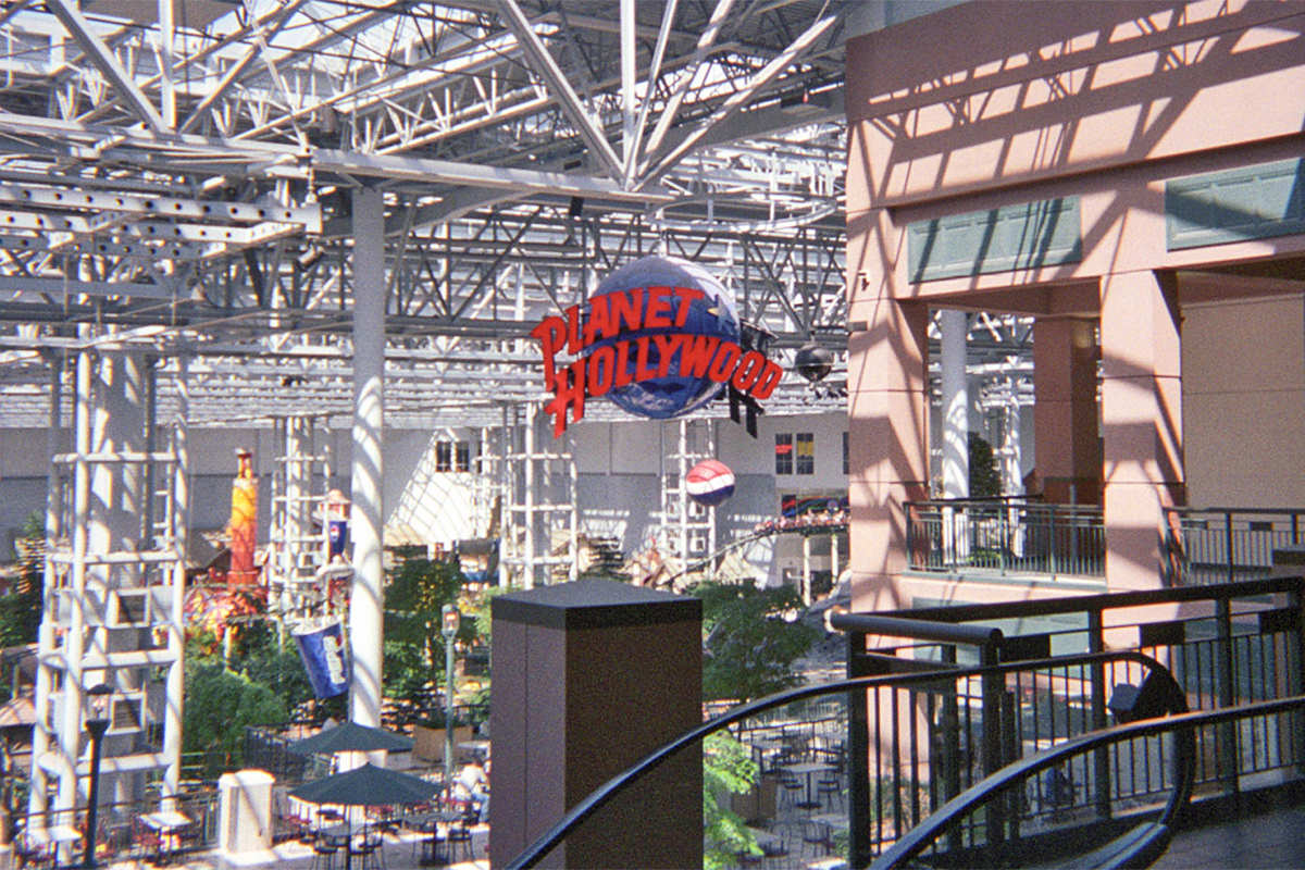 Planet Hollywood Mall of America