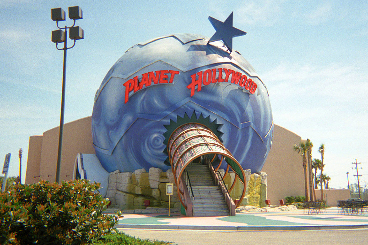 Planet Hollywood Myrtle Beach