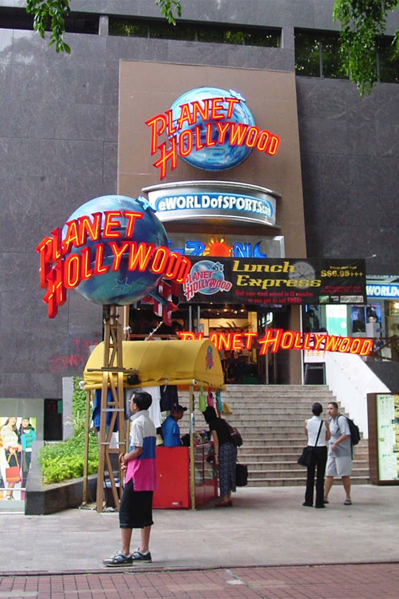 Planet Hollywood Singapore