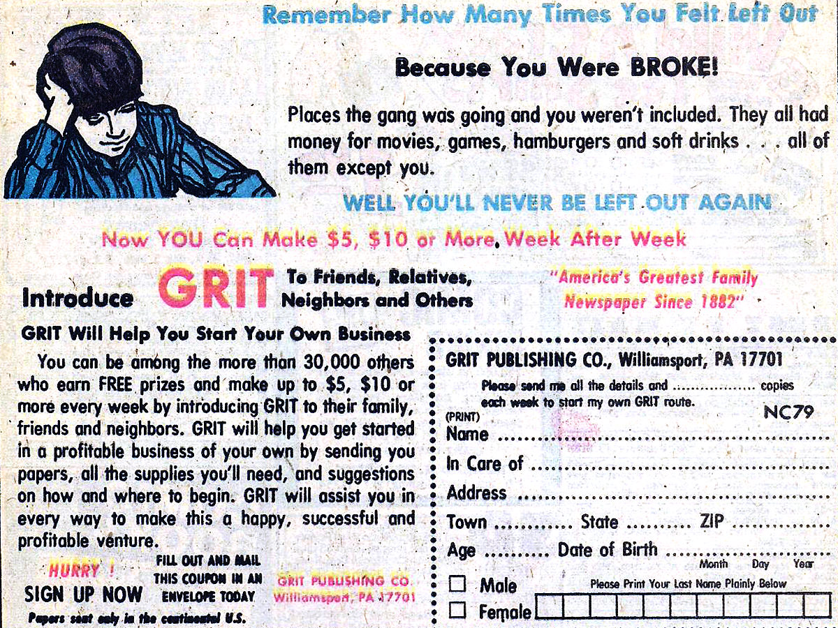 Sell Grit!