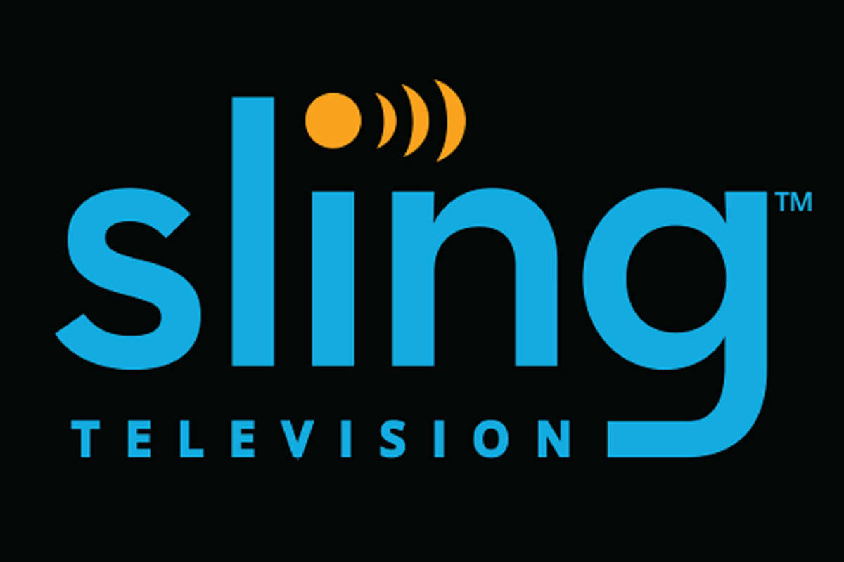 The Sling Logo in blue and orange.