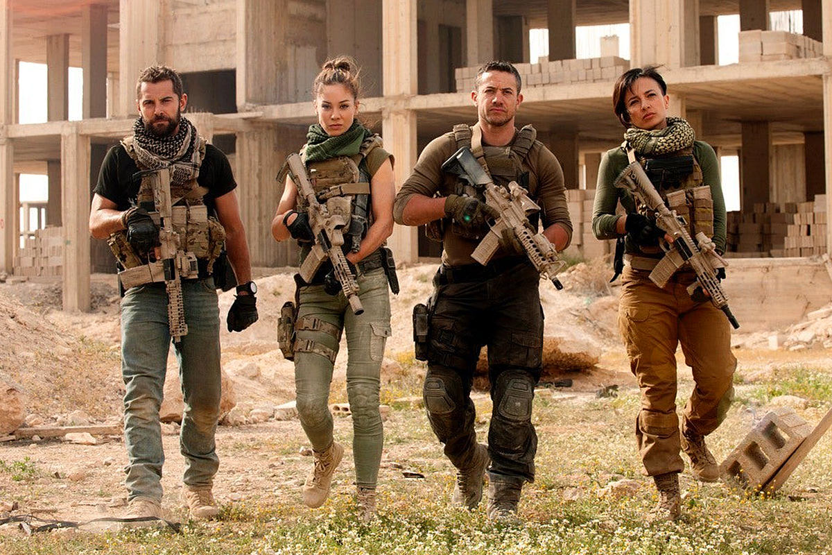 Cast of Strike Back 2.0