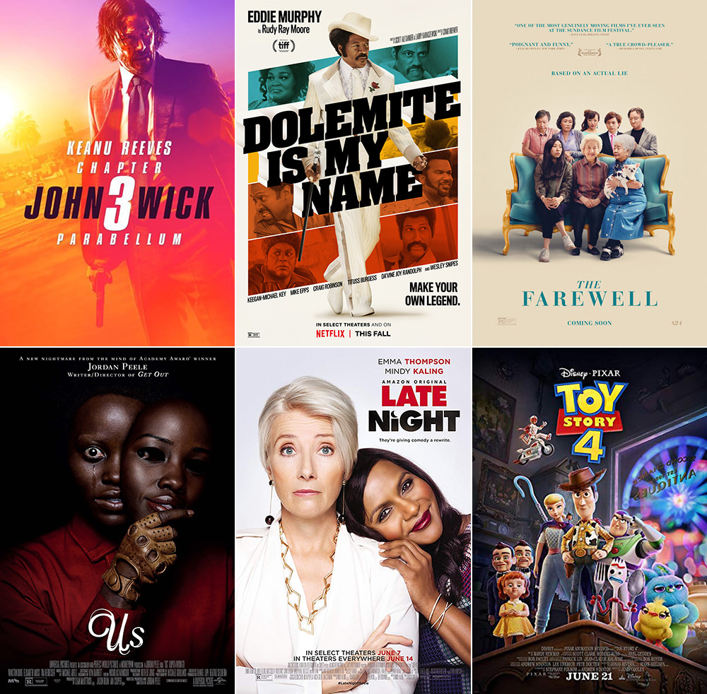 Favorite Movies 2019