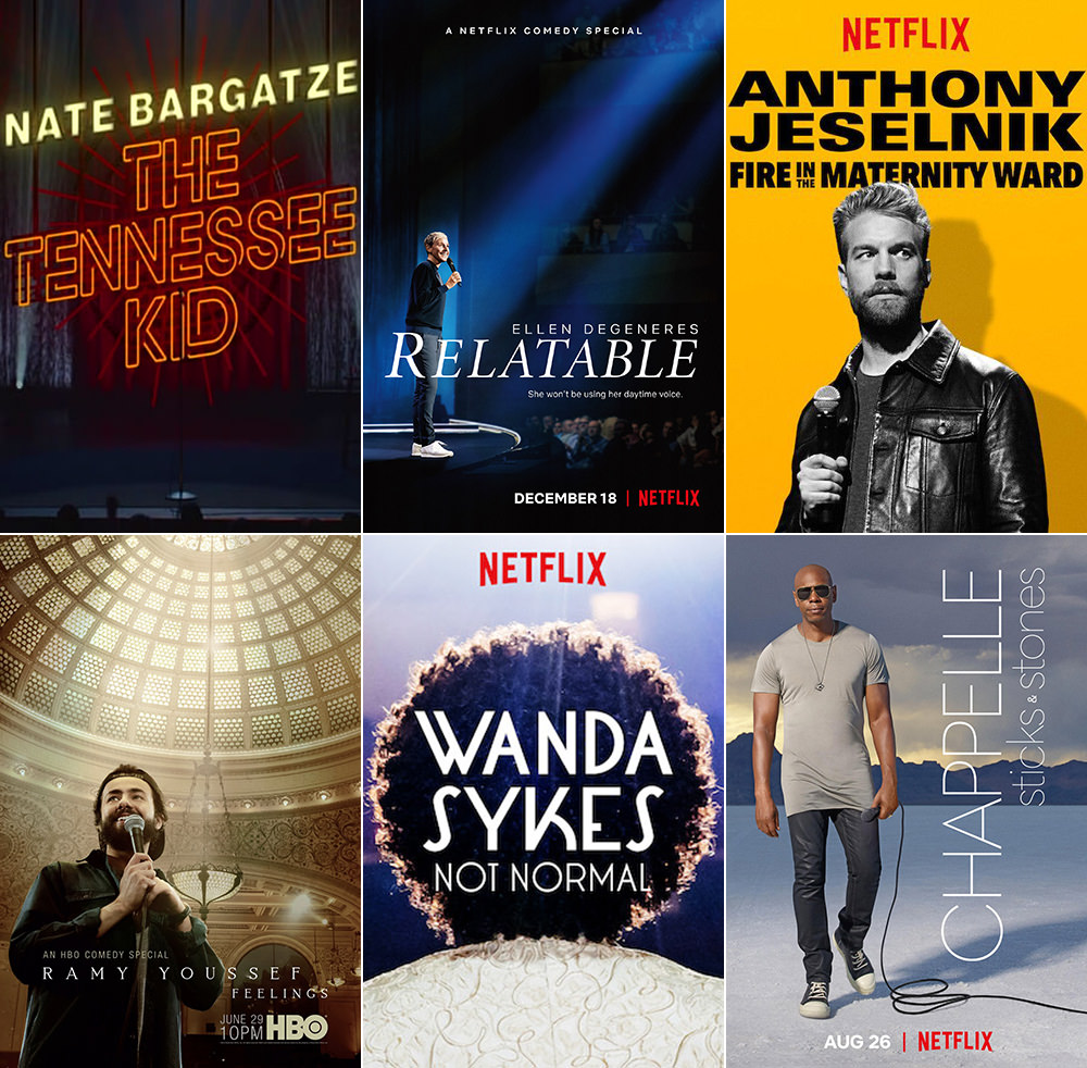 Favorite Television Comedy Stand-Up Shows 2019