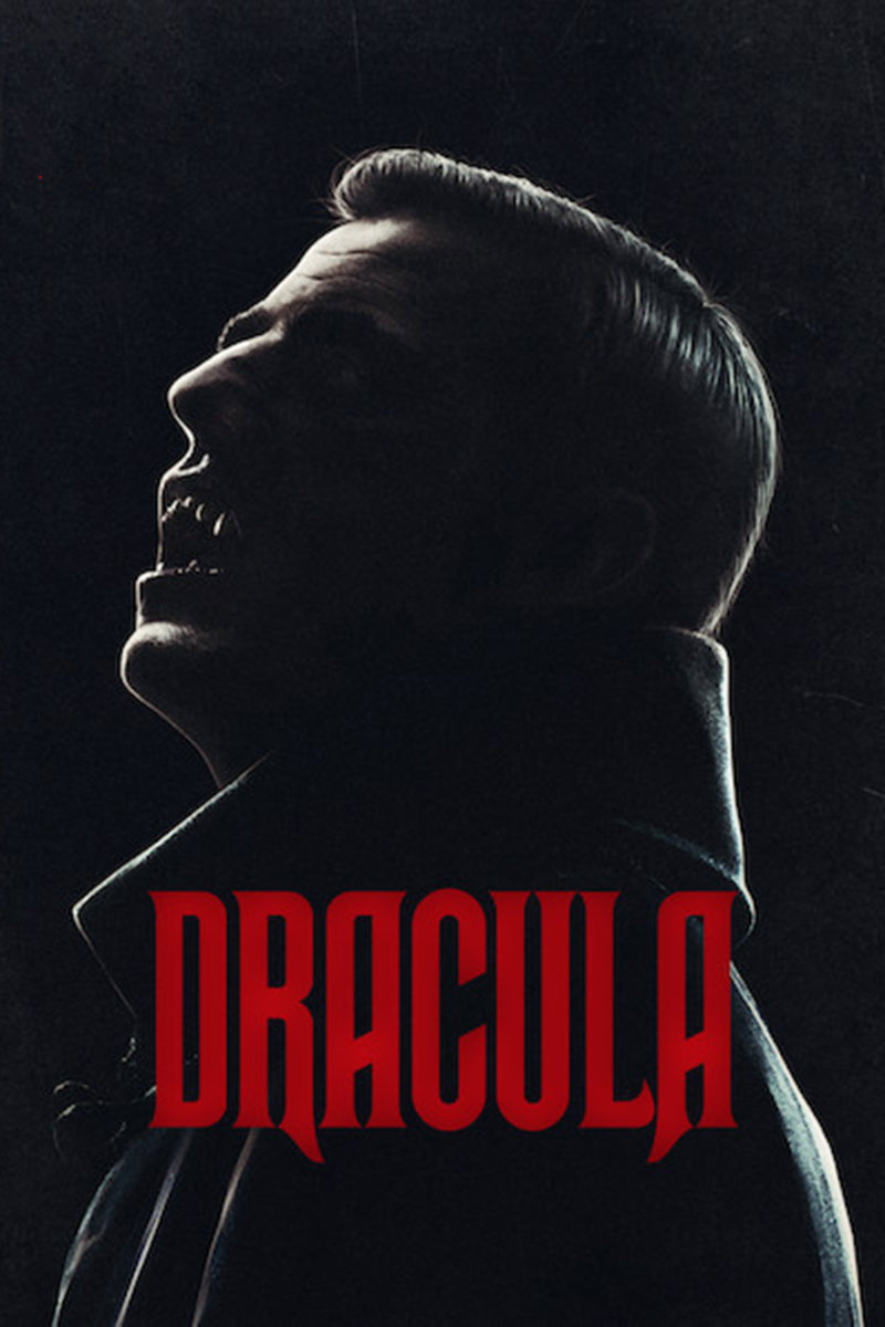 A poster for Netflix's Dracula.