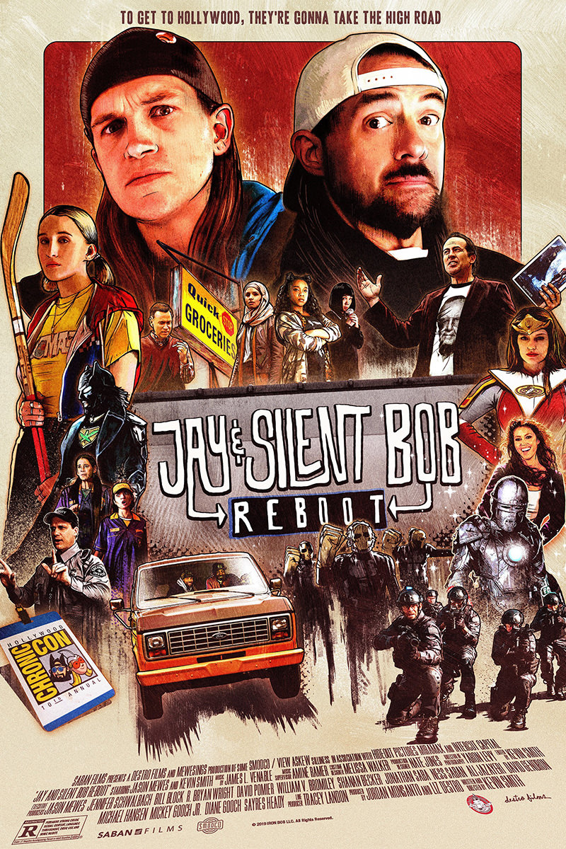 Jay and Silent Bob Reboot movie poster.