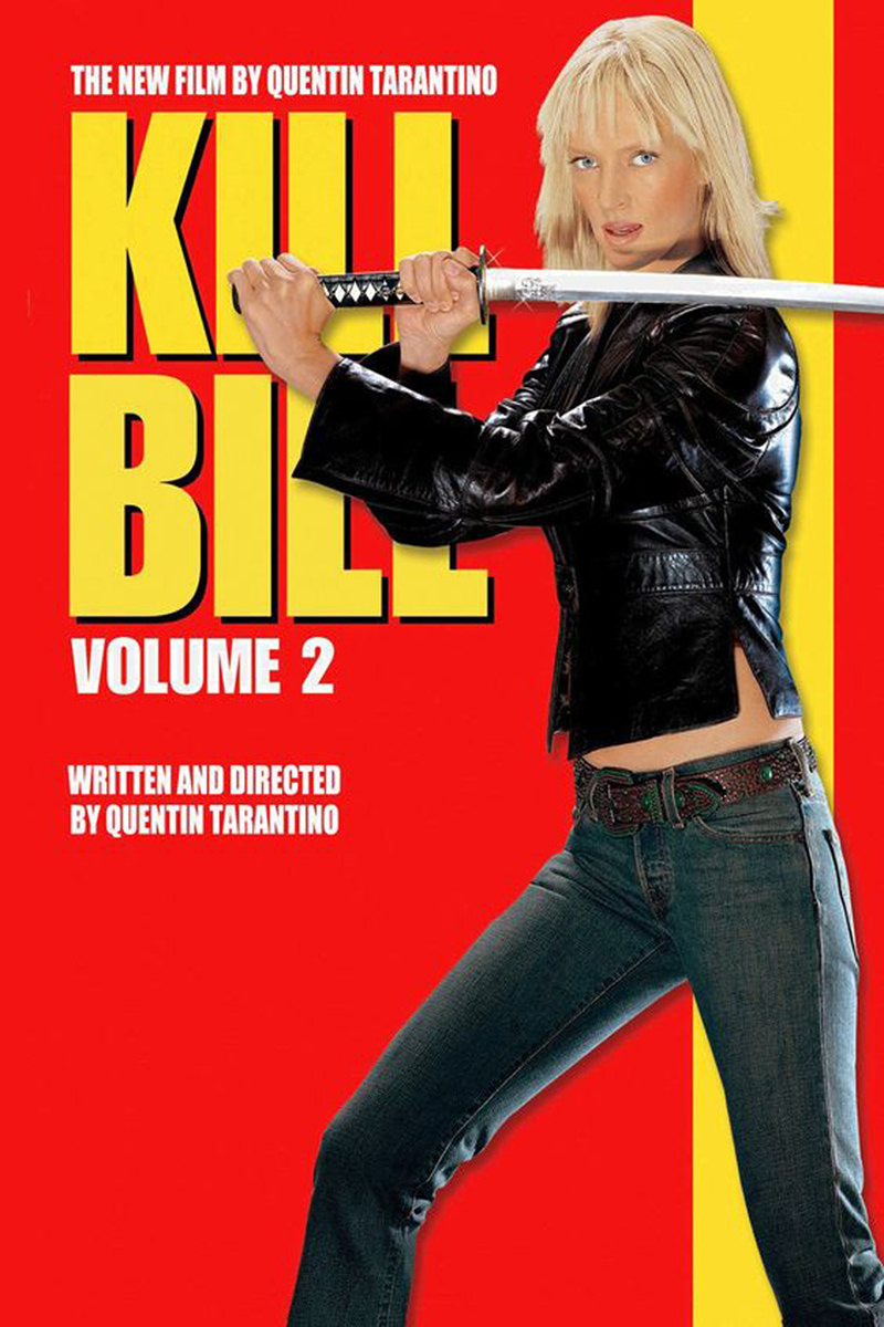 Kill Bill Volume 2 Movie Poster with Uma Thurman
