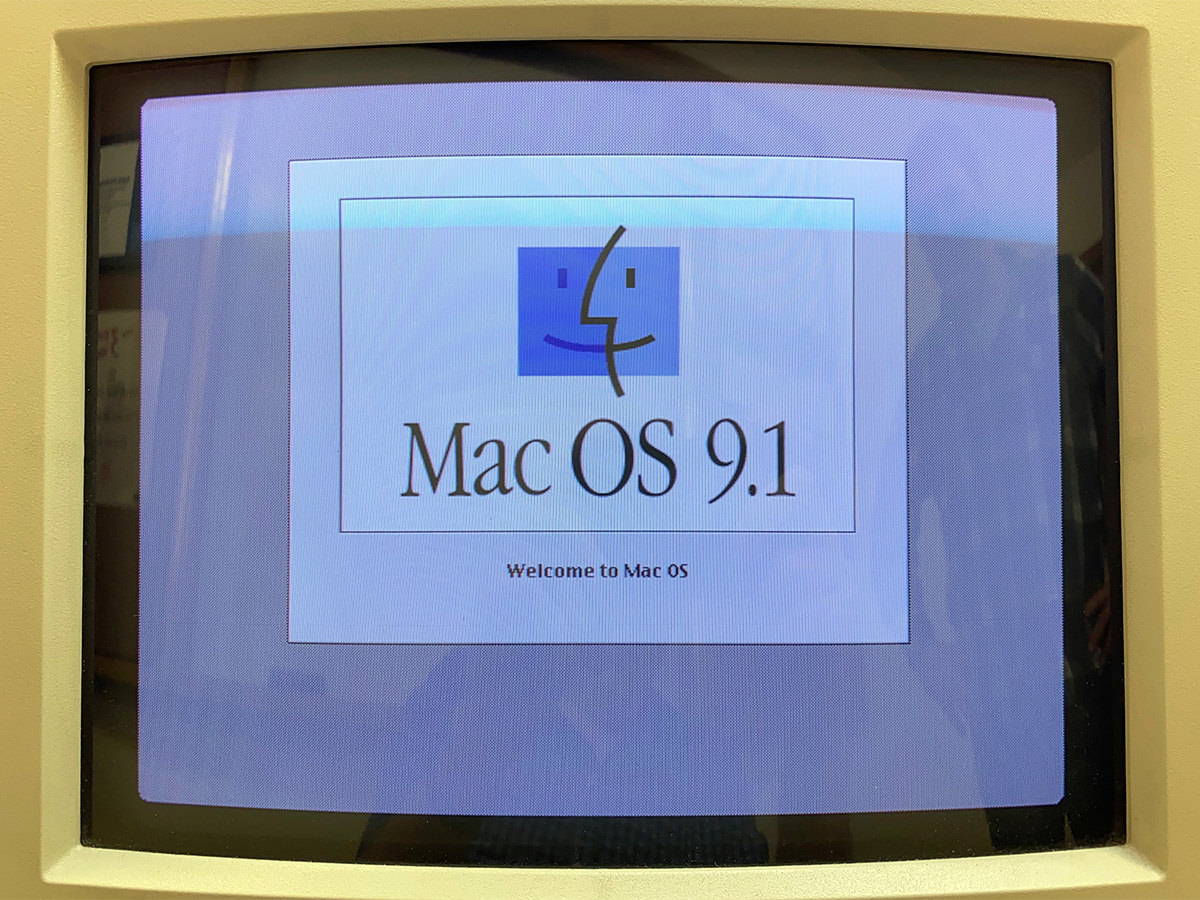 MacOS 9 on an old Mac