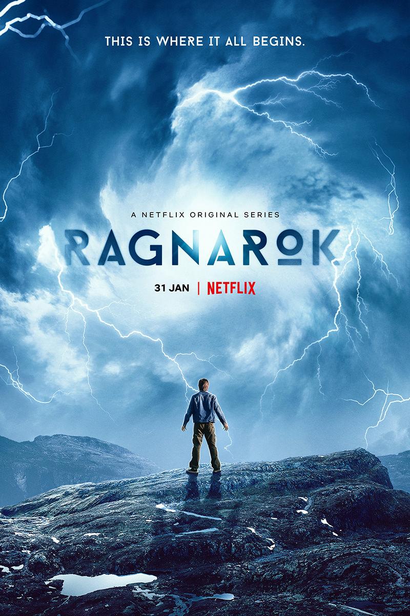A poster for Netflix's Ragnarok.