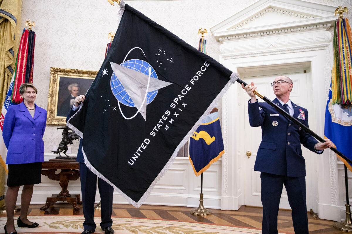 The Space Force Flag