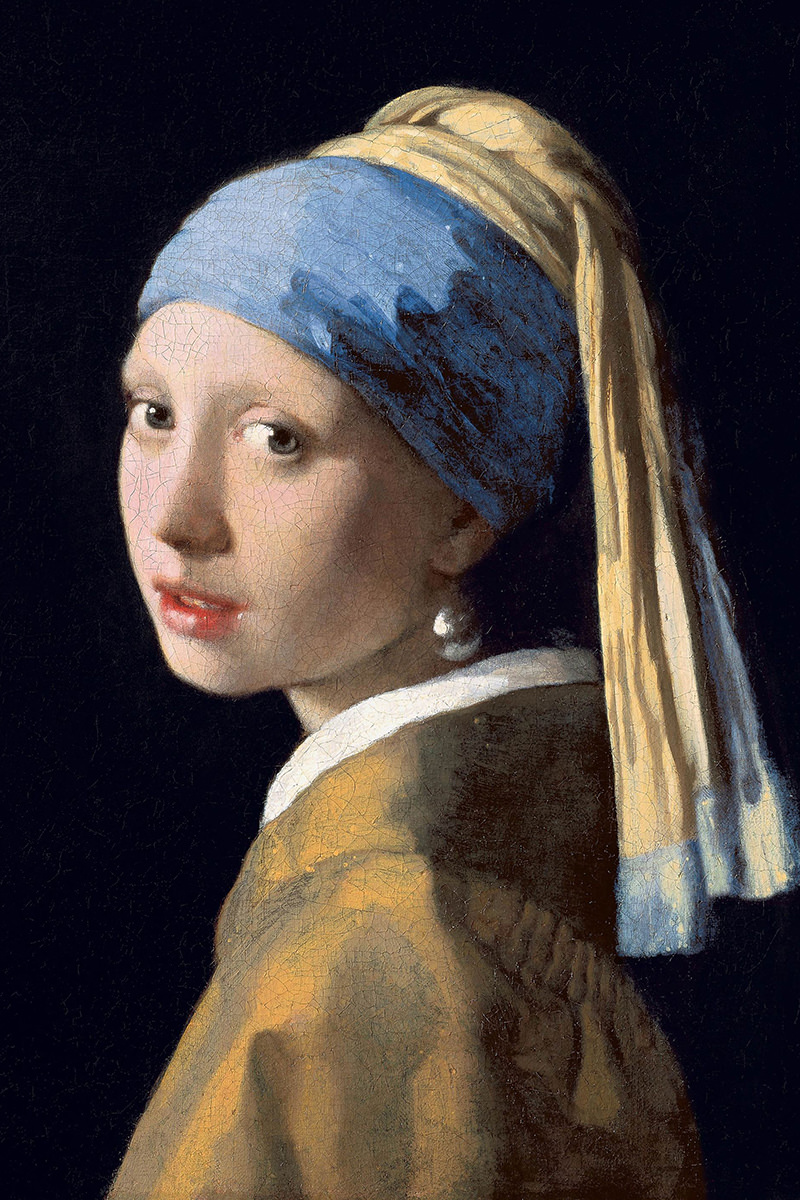 The famous Vermeer painting Girl with a Pearl Earring.