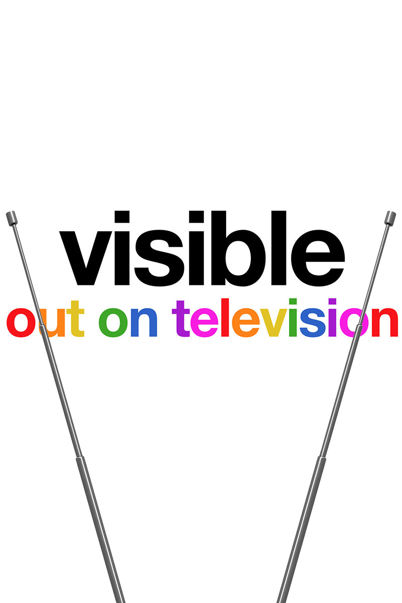 A poster for Apple's Visible: Out on Television.