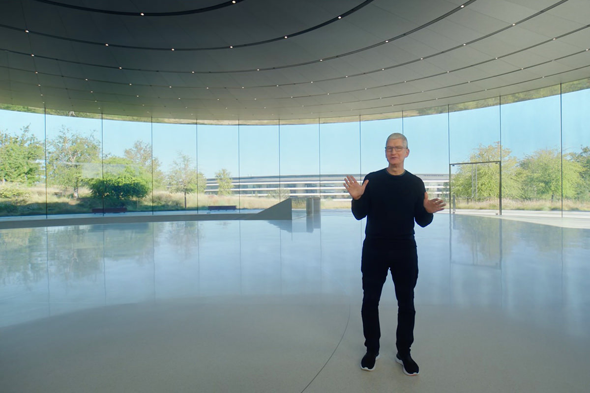 It's Tim Cook, everybody.