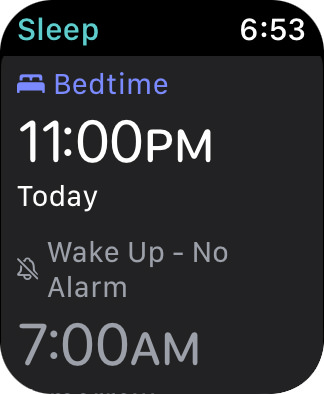 My sleep schedule 11:00pm to 7:00am!