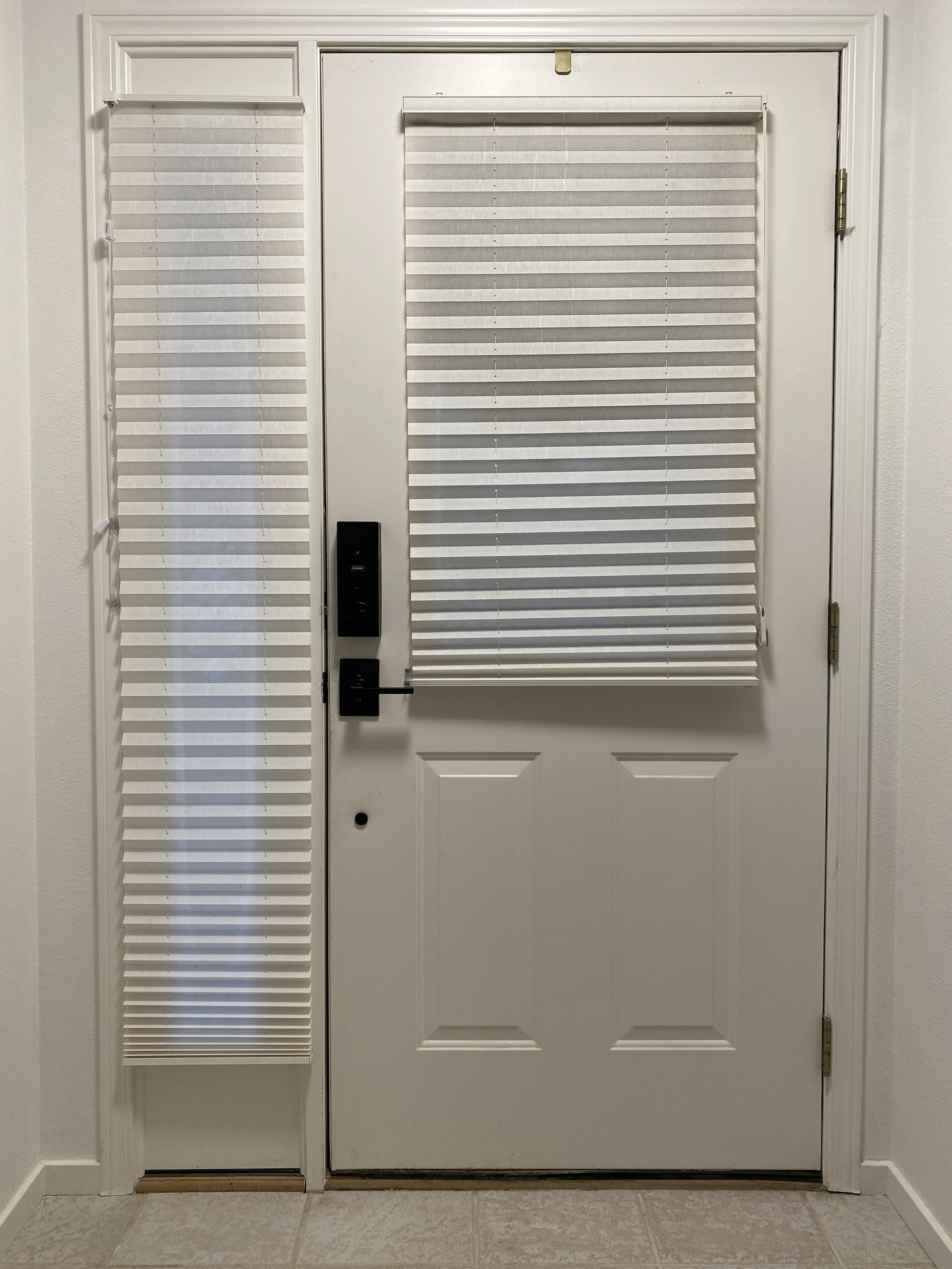 The Blinds on my Door