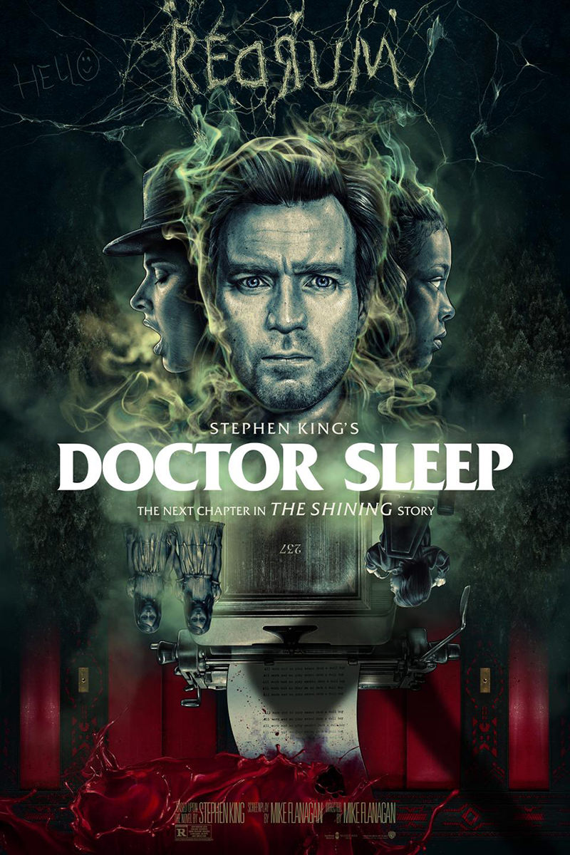 The poster for Doctor Sleep featuring Ewan McGregor.