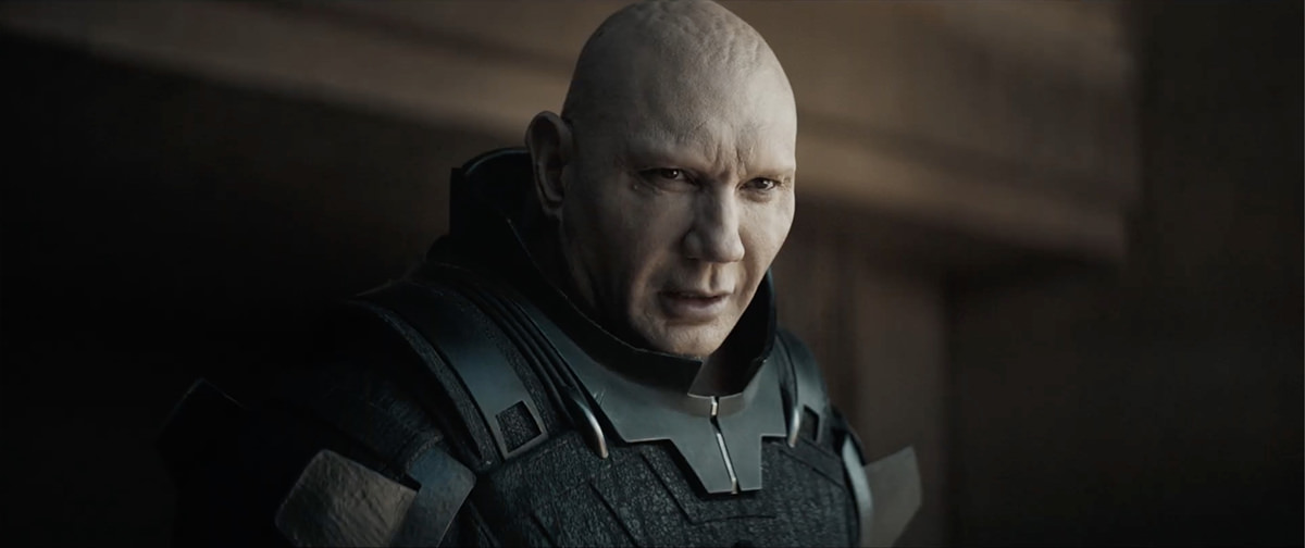 Dave Bautista as The Beast Rabban.
