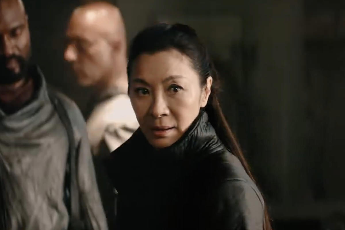 Michelle Yeoh is back as Mirror-Universe Georgiou.