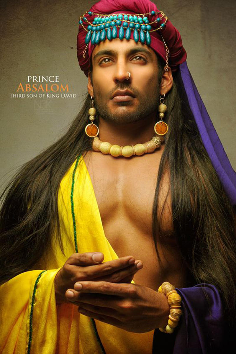 Prince Absalom, looking brutally hot as photographed by James Lewis.