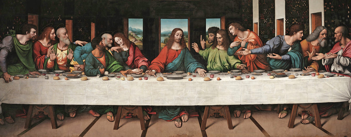 A copy of The Last Supper