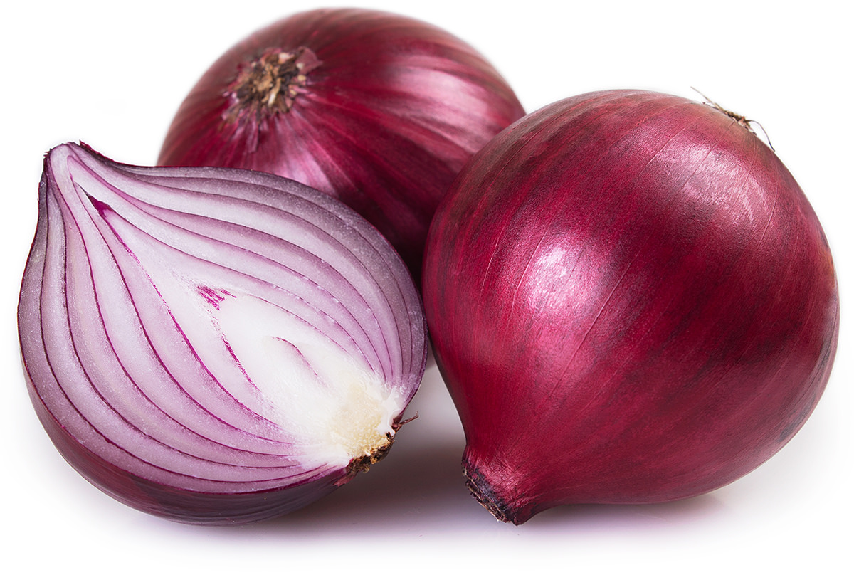 A group of red onions that look purple so I call them purple onions.
