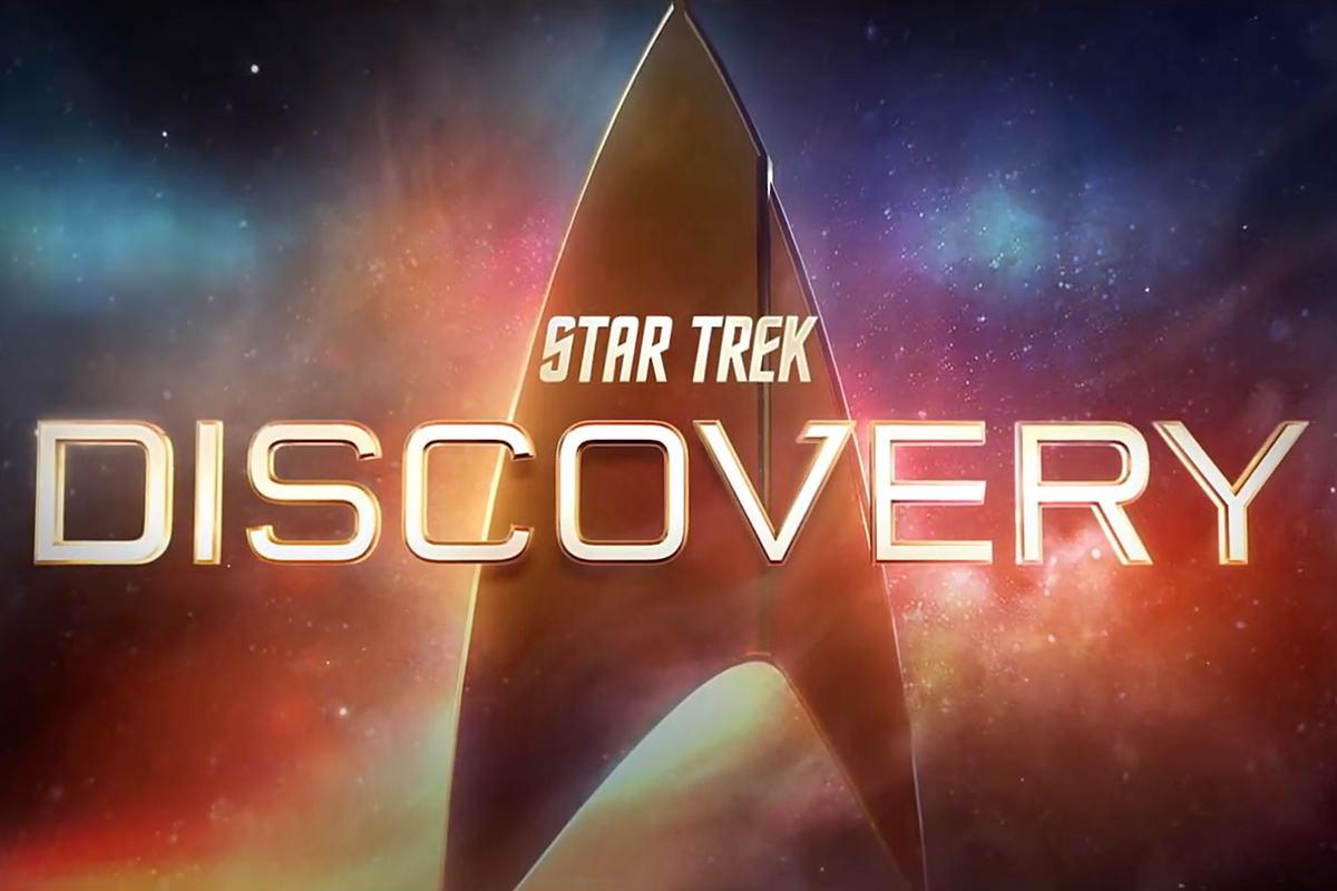 Star Trek Discovery Logo.