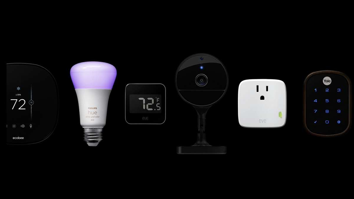 Various home automation tools like smart bulbs, cameras, thermostats, and the like.