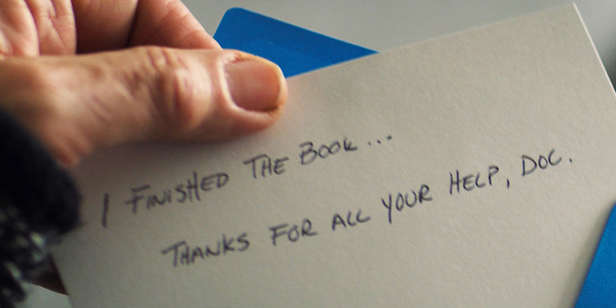 A note to Bucky's psychiatrist: I finished the book... thanks for all your help, doc.