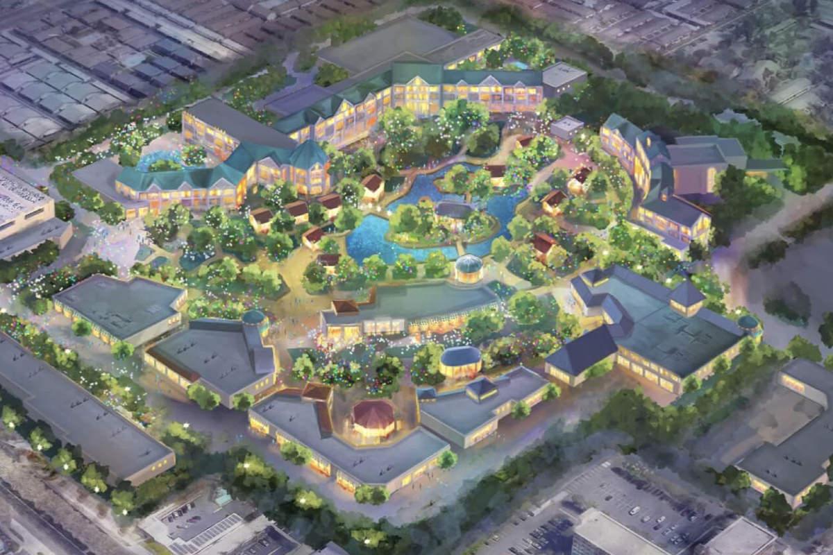 Disney Forward Expansion Map.