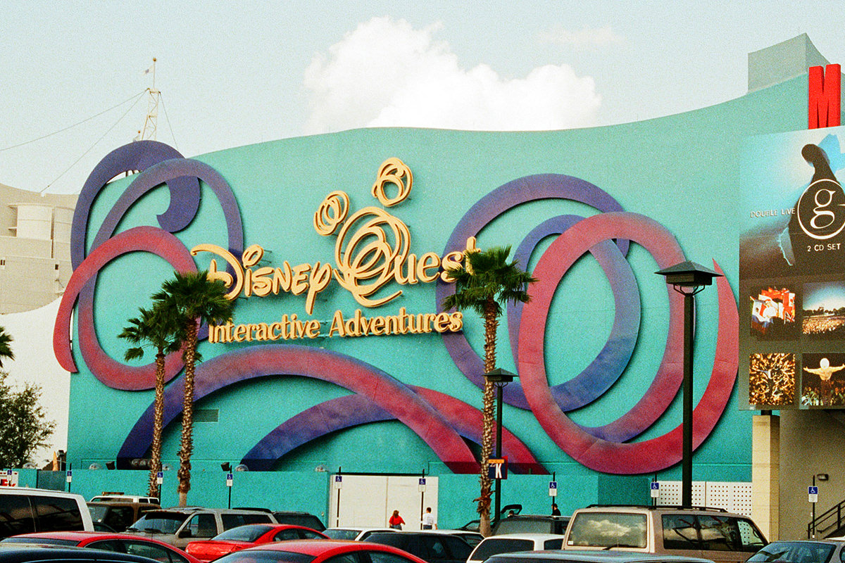 The DisneyQuest Building at Downtown Disney, which is now known as Disney Springs.