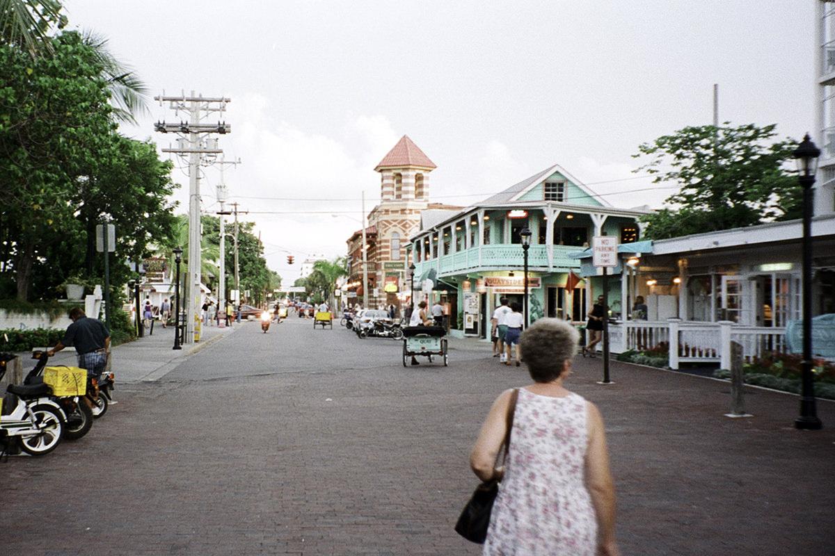 Downtown Key West.