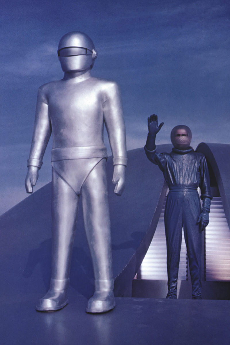 The robot Gort from The Day The Earth Stood Still.