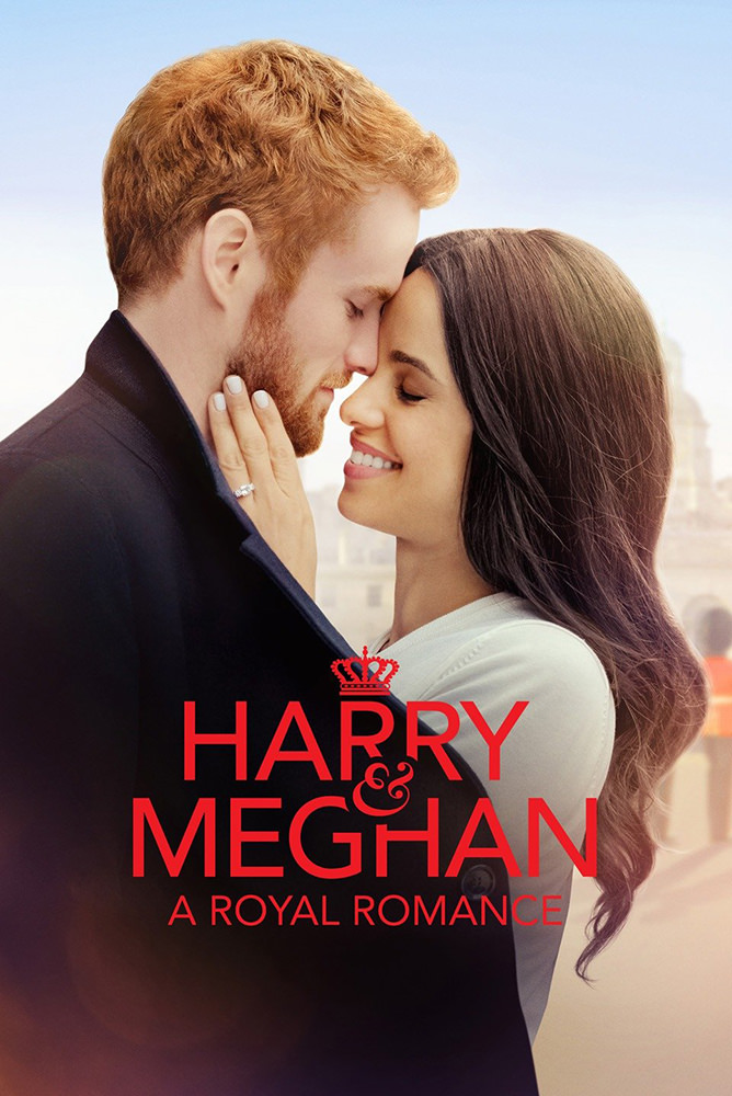 Movie poster for Harry and Meghan A Royal Romance.