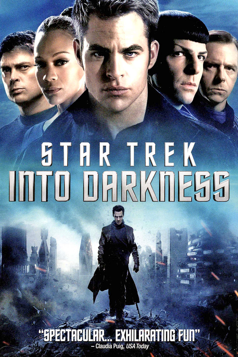 Movie poster for Star Trek Into Darkness.