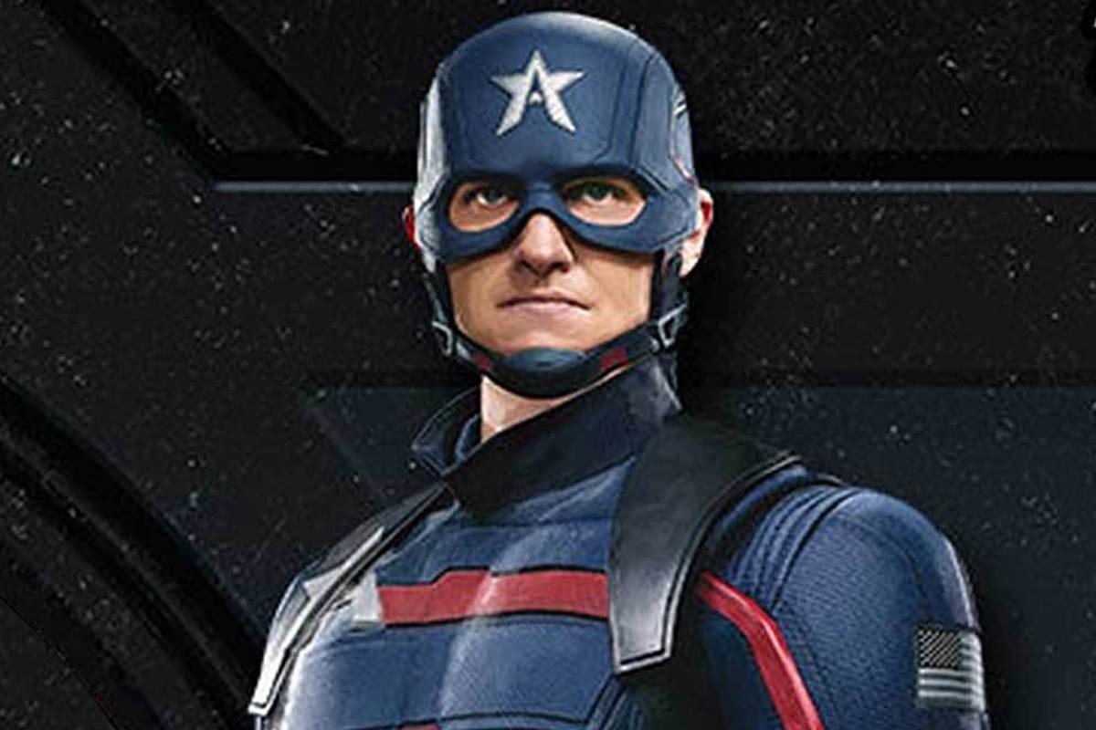 Wyatt Russell as the new Captain America: John Walker.