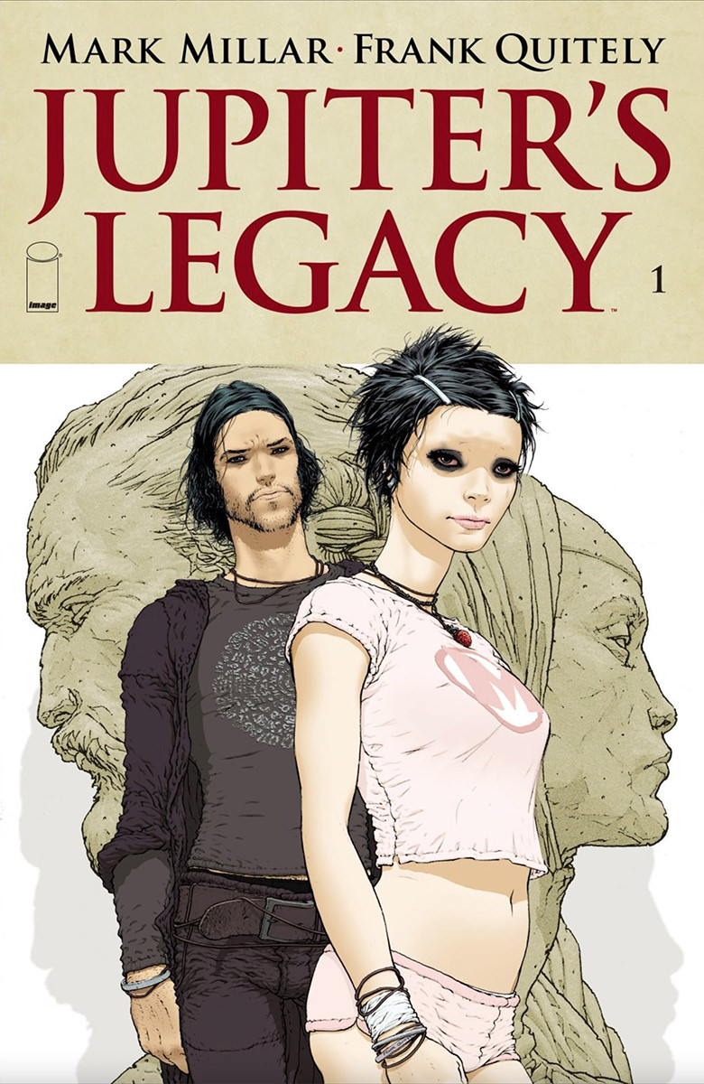The cover to Jupiter's Legacy Issue No. 1.