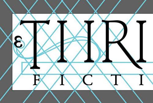 Thrice Fiction Logo Start on my Adobe Illustrator Drawing Board