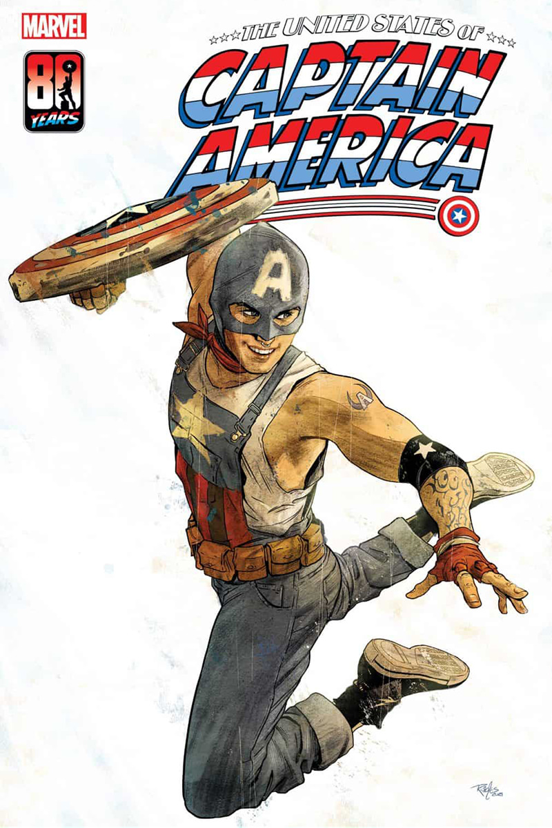 The cover of The United States of Captain America.
