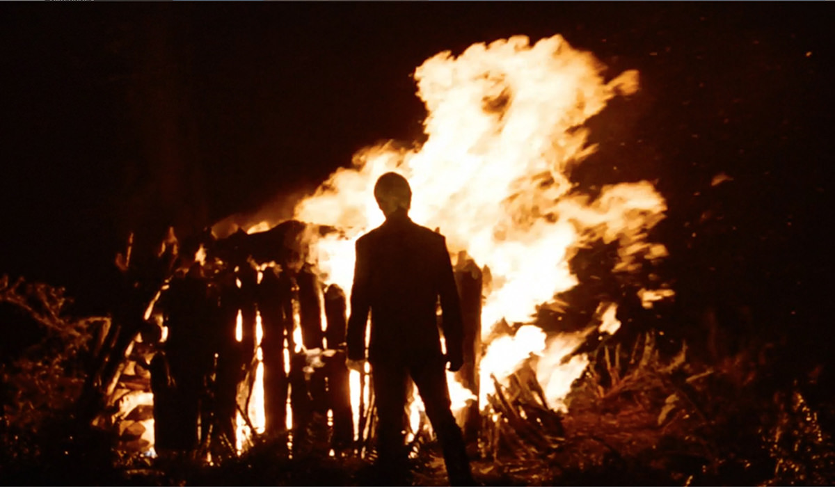 Darth Vader's funeral pyre!