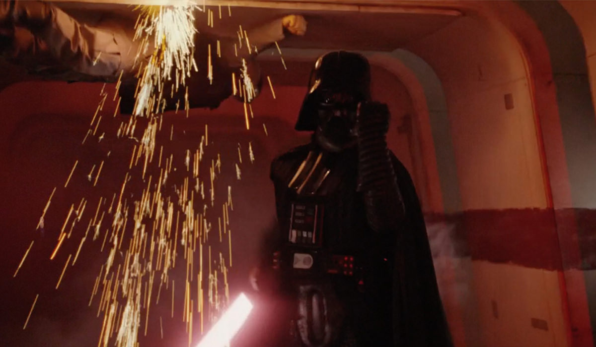 Darth Vader using The Force like a Boss!