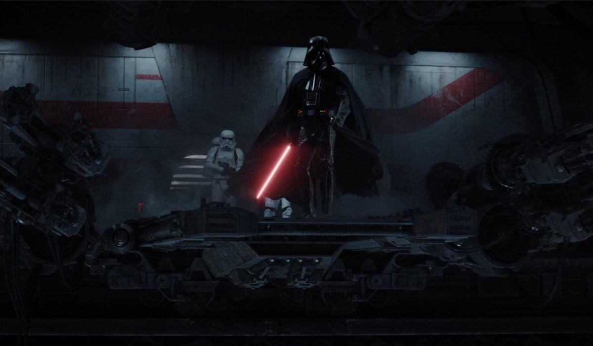 Darth Vader destorying his enemies!