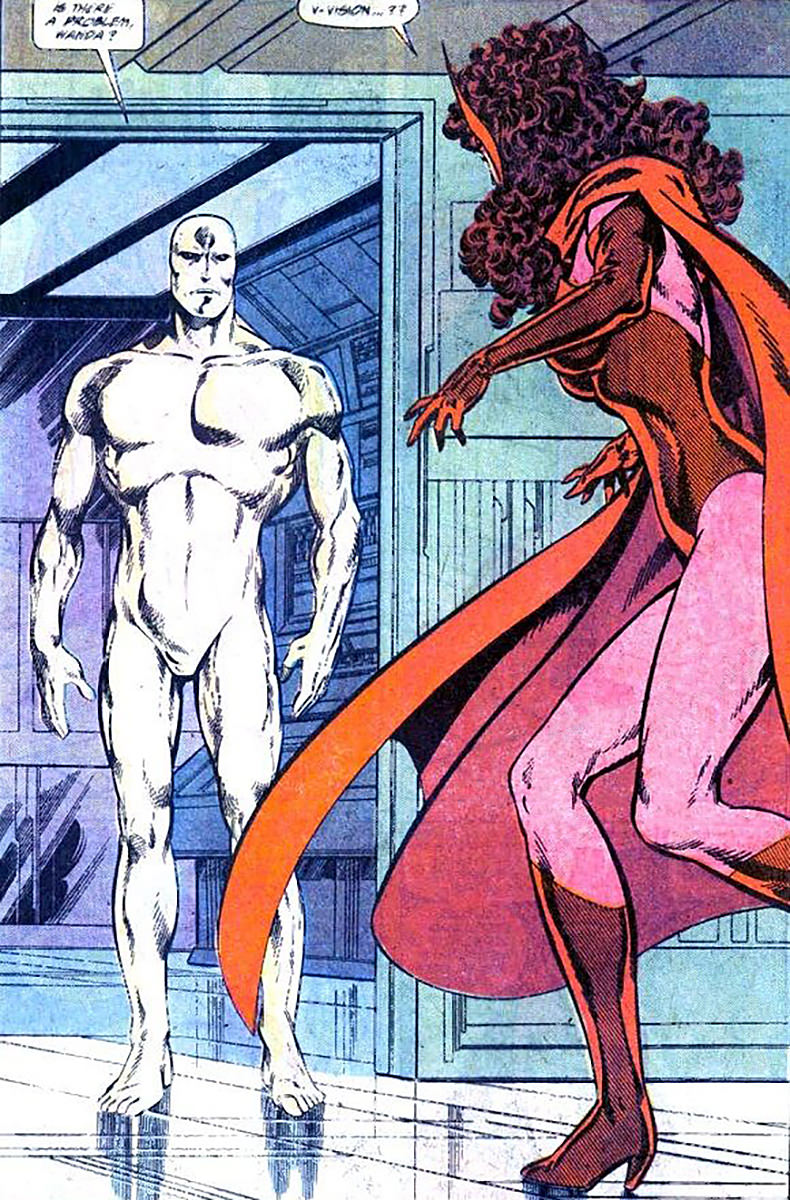 A White Vision in the John Byrne comics.