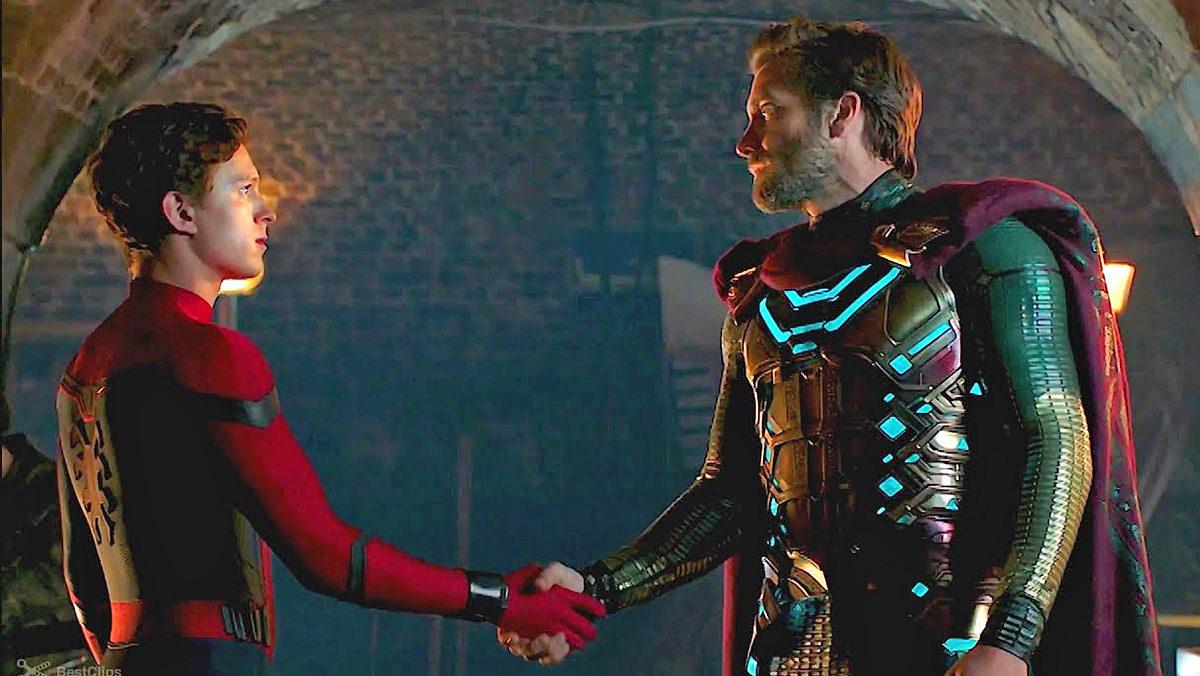 Spider-Man meets Mysterio.
