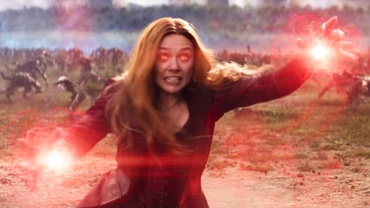 Wanda as The Scarlet Witch.