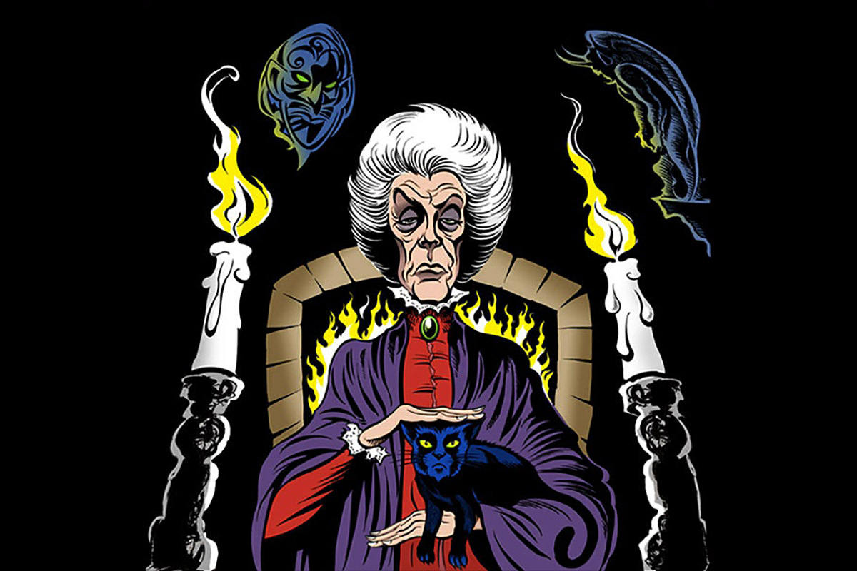 Agatha Harkenss, a centuries-old witch from the Marvel comics.