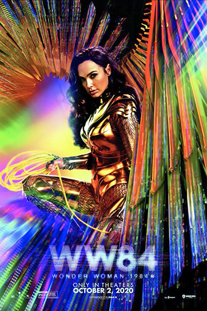 VERY Colorful Wonder Woman 84 Poster