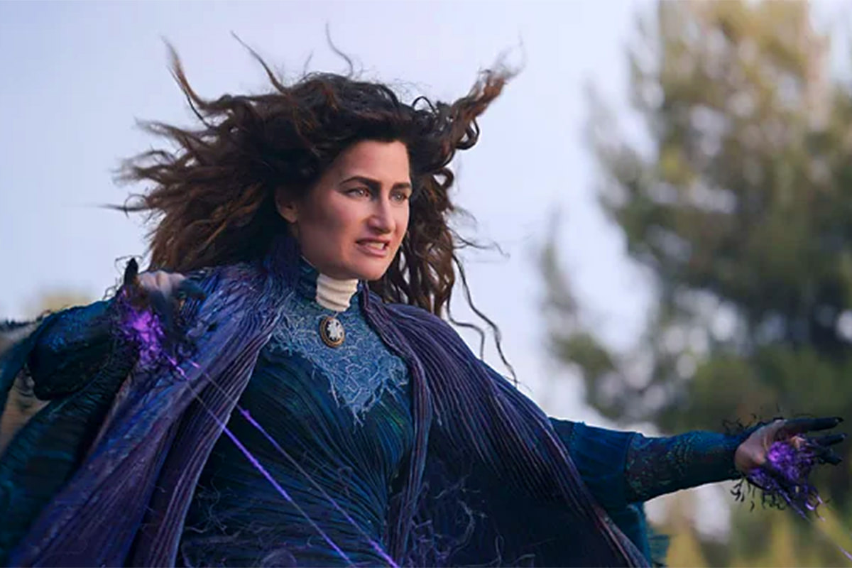 Kathryn Hahn as Agatha Harkness being all evil and stuff.