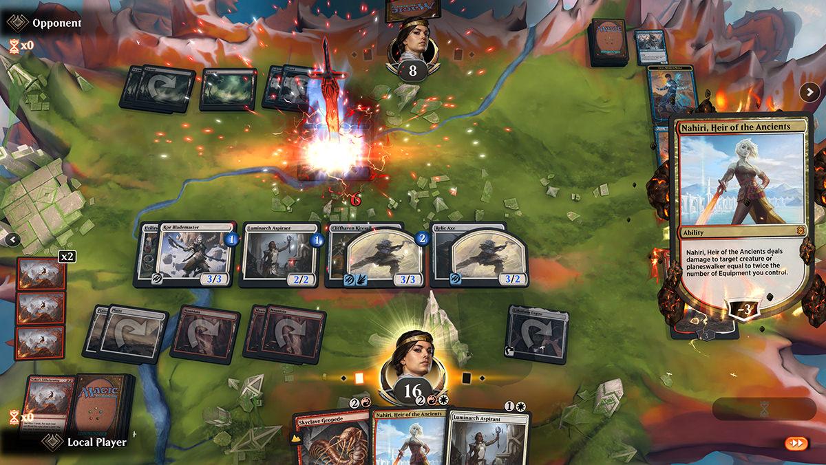 A screenshot of Magic The Gathering Arena.